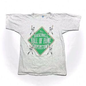 VTG Single Stitch Baseball Hall of Fame T Shirt